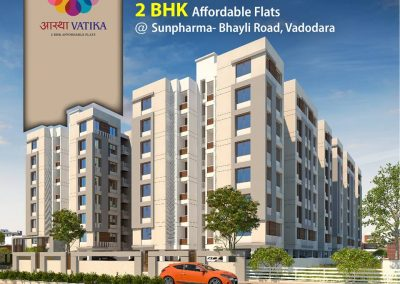 2 Bhk Affordable Apartments in Sunpharma, Bhayli Road Vadodara (3)