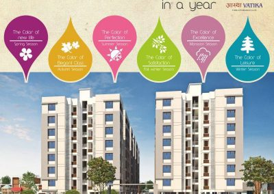 2 Bhk Affordable Apartments in Sunpharma, Bhayli Road Vadodara (8)