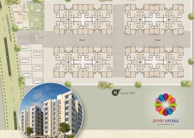 2 Bhk Affordable Apartments in Sunpharma, Bhayli Road Vadodara (9)