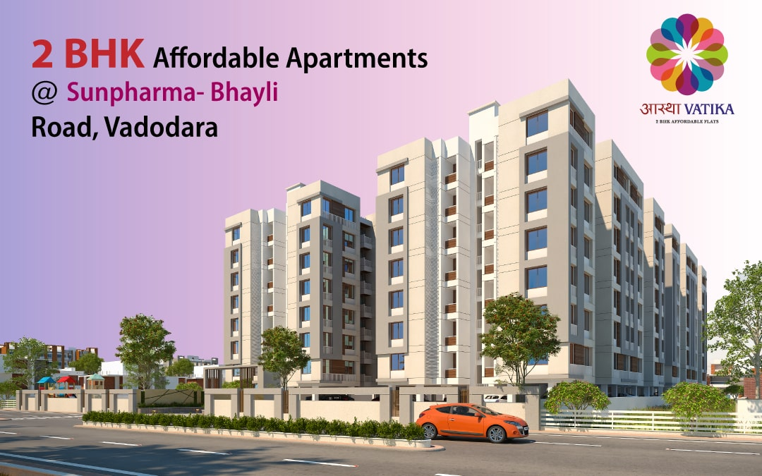 Aastha Vatika | 2 Bhk Affordable Apartments in Sunpharma – Bhayli Road Vadodara